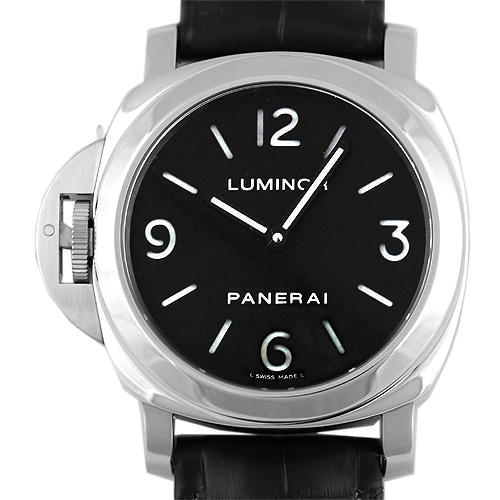 PAM00219 ルミノール ベース 手巻き(ブラック)